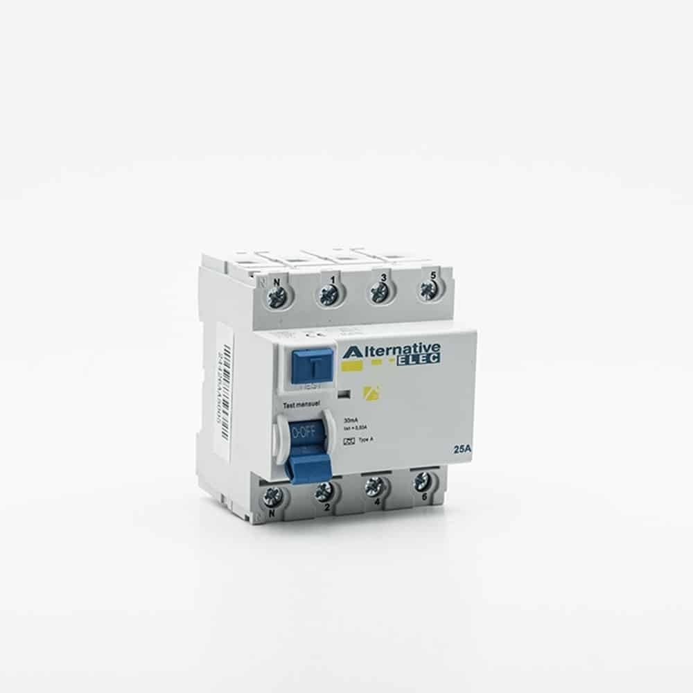 ALTERNATIVE ELEC Cache Bornes pour Interrupteur Différentiel - AE20201 -  distriwatt.fr adb735ac485a